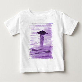 VISION-D8 painting purple hue Baby T-Shirt