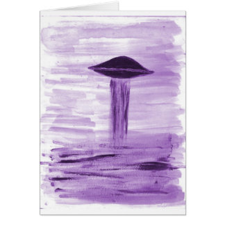 VISION-D8 painting purple hue Card
