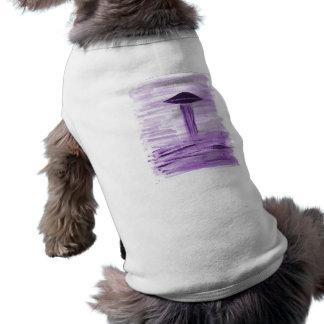 VISION-D8 painting purple hue Dog Tee Shirt