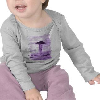 VISION-D8 painting purple hue Tshirts