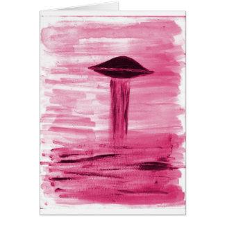 VISION-D8 painting rose hue Card