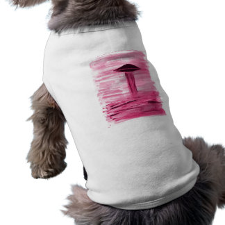 VISION-D8 painting rose hue Doggie T Shirt