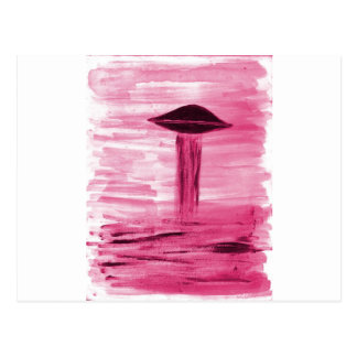 VISION-D8 painting rose hue Postcard