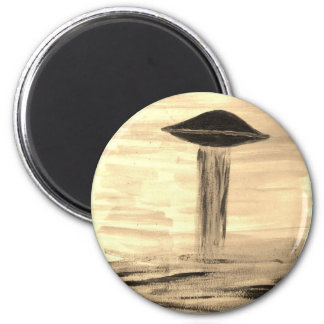 VISION-D8 painting sepia Magnet