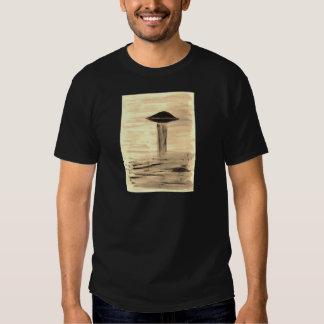 VISION-D8 painting sepia Tee Shirts