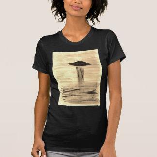 VISION-D8 painting sepia Tshirts