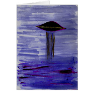VISION-D8 painting violet hue Card