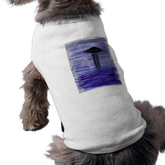 VISION-D8 painting violet hue Dog T Shirt