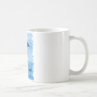 VISION-D8 que pinta tonalidad azul Taza De Café