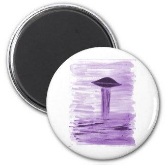 VISION-D8 que pinta tonalidad púrpura Imán Redondo 5 Cm