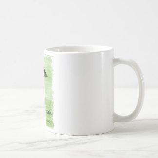 VISION-D8 que pinta tonalidad verde Taza De Café