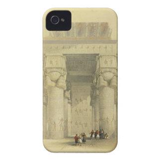 Visión de debajo el pórtico del templo en Denda Carcasa Para iPhone 4