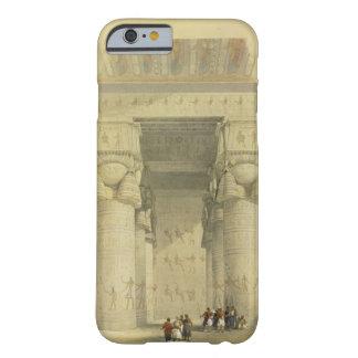 Visión de debajo el pórtico del templo en Denda Funda Barely There iPhone 6