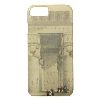 Visión de debajo el pórtico del templo en Denda Funda iPhone 7
