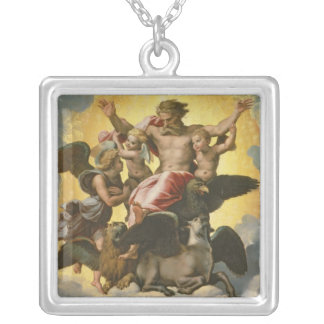 Vision de Ezekiel, c.1518 Colgante Cuadrado