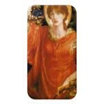 Vision de Fiammetta - Dante Gabriel Rossetti iPhone 4 Fundas