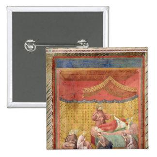 Vision de papa Gregorio IX 1297-99 Pins
