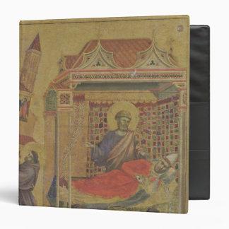 """Vision de papa Inocencio III, c.1295-1300 Carpeta 1 1/2"""""""