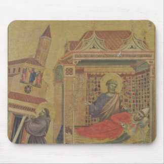 Vision de papa Inocencio III, c.1295-1300 Tapete De Ratones