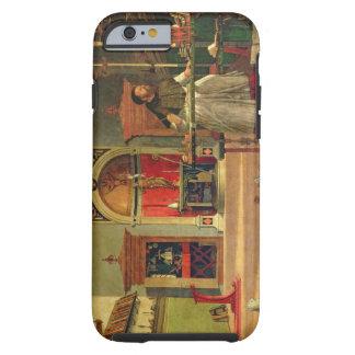 Vision de St Augustine, 1502-08 (aceite en lona) ( Funda De iPhone 6 Tough