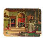 Vision de St Augustine, 1502-08 (aceite en lona) ( Iman