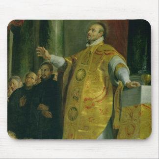 Vision de St Ignatius de Loyola Tapete De Raton