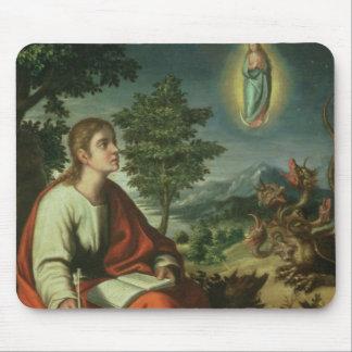 Vision de St. John el evangelista en Patmos Alfombrilla De Raton