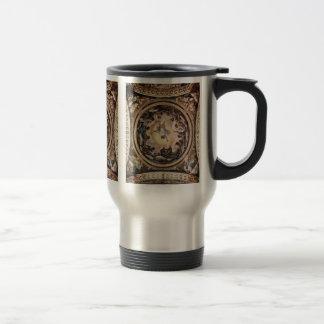 Vision de St. John en la descripción de Patmos Tazas De Café