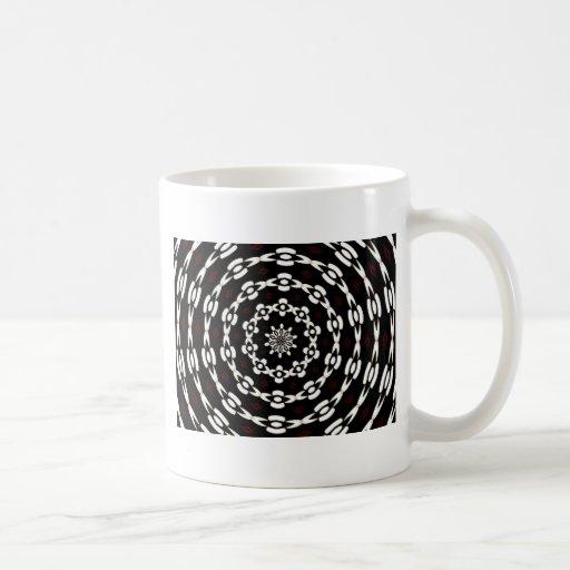 visión de túnel tazas de café