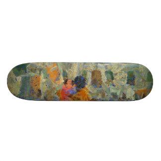 Visión de un sitio de la herencia skate board