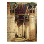 Visión debajo del pórtico magnífico, Philae Postal