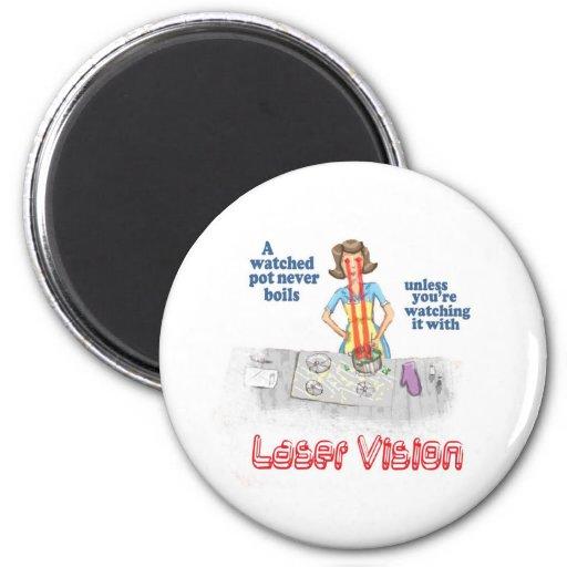 visión del laser imán para frigorifico