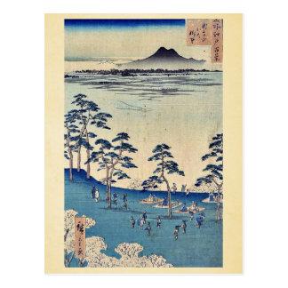 Visión del norte desde Asukayama por Ando, Hiroshi Postales