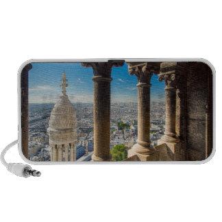 Visión desde arriba de Basilique du Sacre Coeur Notebook Altavoces