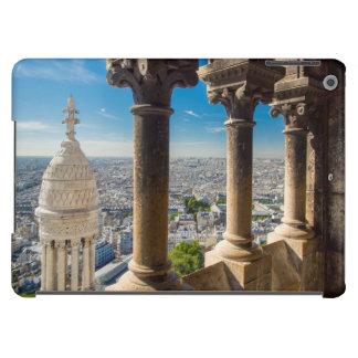 Visión desde arriba de Basilique du Sacre Coeur Funda Para iPad Air