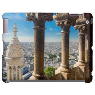 Visión desde arriba de Basilique du Sacre Coeur Funda Para iPad