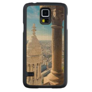 Visión desde arriba de Basilique du Sacre Coeur Funda De Galaxy S5 Slim Arce