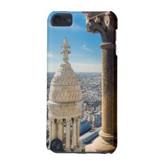 Visión desde arriba de Basilique du Sacre Coeur Funda Para iPod Touch 5G