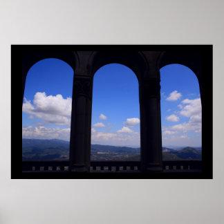 Visión desde el 3 Windows Póster