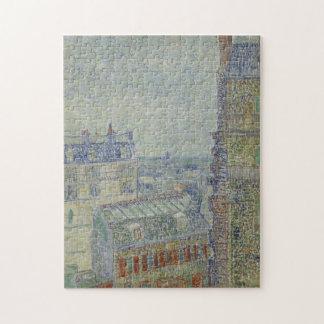 Visión desde el apartamento de Theo de Vincent van Puzzles