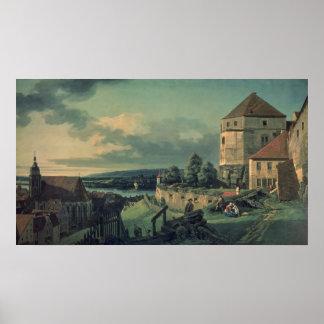 Visión desde el castillo, 1753-55 póster