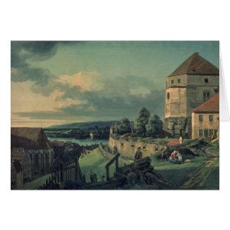 Visión desde el castillo, 1753-55 tarjeta de felicitación