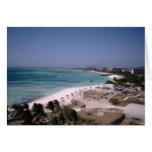 Visión desde el centro turístico de Divi Aruba Tarjeta Pequeña