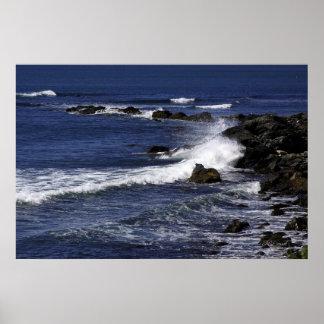 Visión desde el Cliffwalk Impresiones