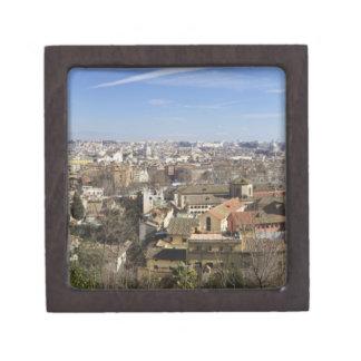 Visión desde el faro de Manfredi, colina de Gianic Caja De Recuerdo De Calidad