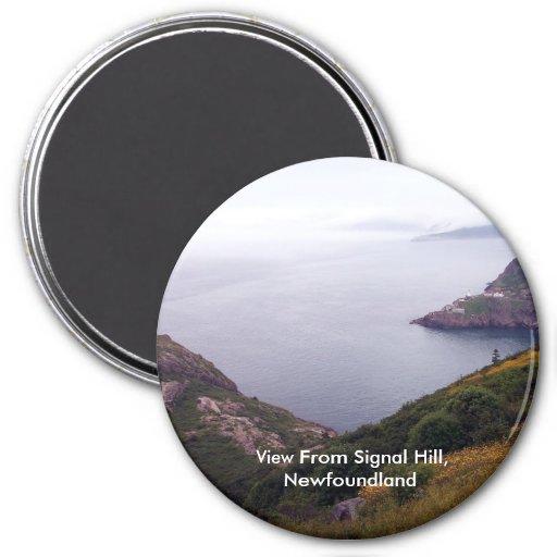 Visión desde el imán de la colina 1 de la señal