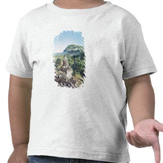 Visión desde el monumento que muestra la camisetas