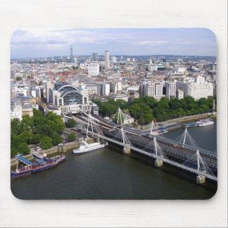 Visión desde el ojo de Londres Mousepads
