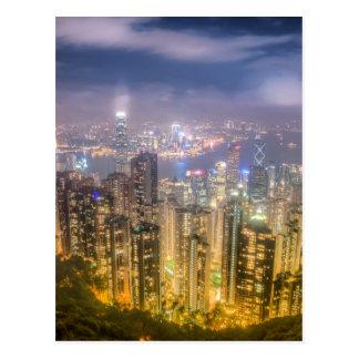 Visión desde el pico, Hong Kong Tarjeta Postal