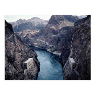 Visión desde el Preso Hoover, Nevada/Arizona, los Tarjetas Postales